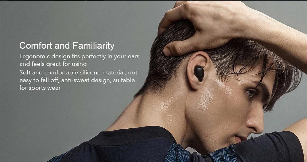 Original Xiaomi Redmi Airdots TWS Bluetooth Earphone Stereo bass Bluetooth 5.0 Eeadphones With Mic Handsfree Earbuds AI Control (7)