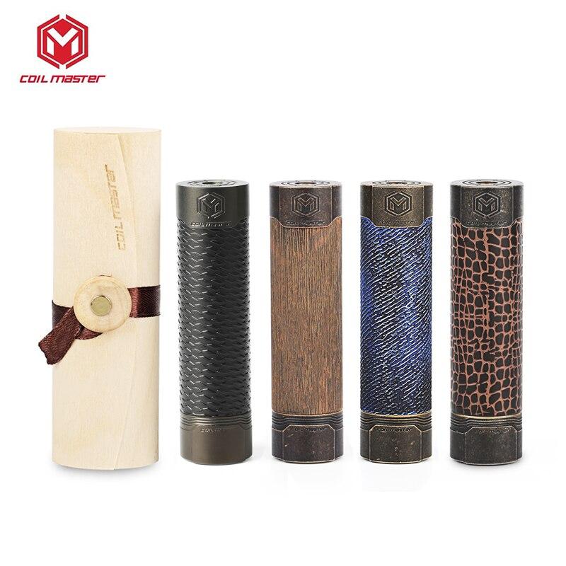 Bobine d'origine Mech mécanique Vape Mod Groot/Cobra/matrice/Jeans par 18650 batterie E Cigarette Mod laiton VS VGOD Pro Mod