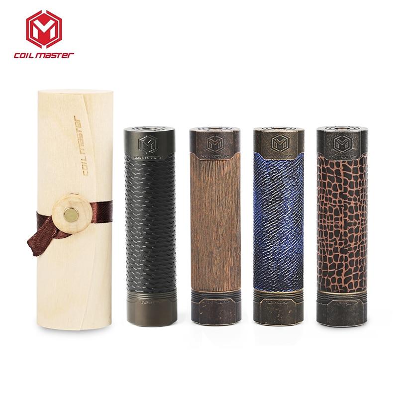 Original bobina maestro Mech mecánica Mod Vape Groot/Cobra/matriz/Jeans por batería 18650 E cigarrillo Mod latón del VGOD Mod Pro