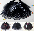 Baby Girls dot bow Skirts multicolor fashion cotton Children's veil skirt for auturn and spring size 6 8 10 Free Shipping