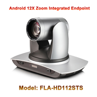2MP 1080p 60fps 12x optical zoom webcam Audio Video conferencing terminal android integrated endpoint