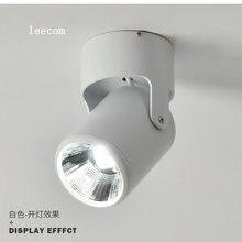 5 Вт 7 Вт супер яркий Точечный светильник, вращение на 180 градусов, потолочный светильник, светодиодный светильник с Ac85-265v вниз