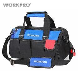 WORKPRO 14 bolsas de herramientas Base impermeable herramienta bolsas de almacenamiento bolsa de hombro bolso envío gratis