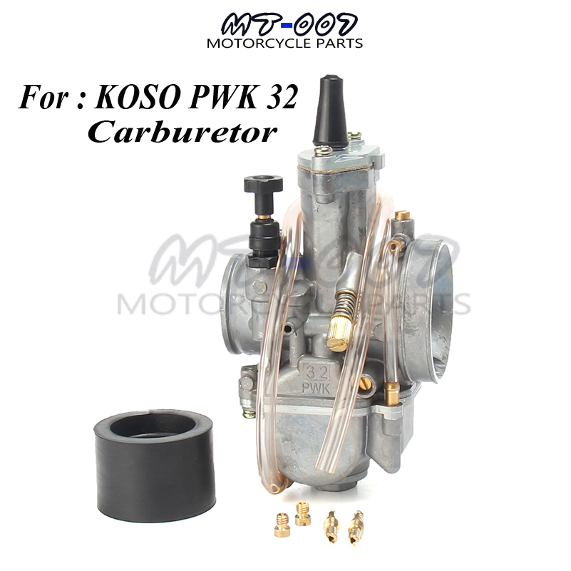 LQKYWNA PWK OKO KOSO Adaptateur dinterface de carburateur pour Moto 32 mm//34 mm