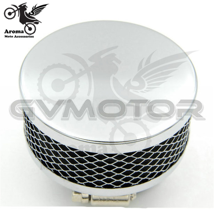 35 39 42 45 48 50 52 54 60MM chrome moto air systems motorbike air clean for honda suzuki yamaha harley motorcycle air filter