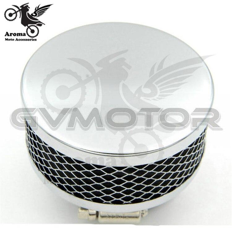 35 39 42 45 48 50 52 54 60mm cromo moto sistemas de aire moto rbike Aire Limpio para honda suzuki yamaha harley moto rcycle filtro de aire