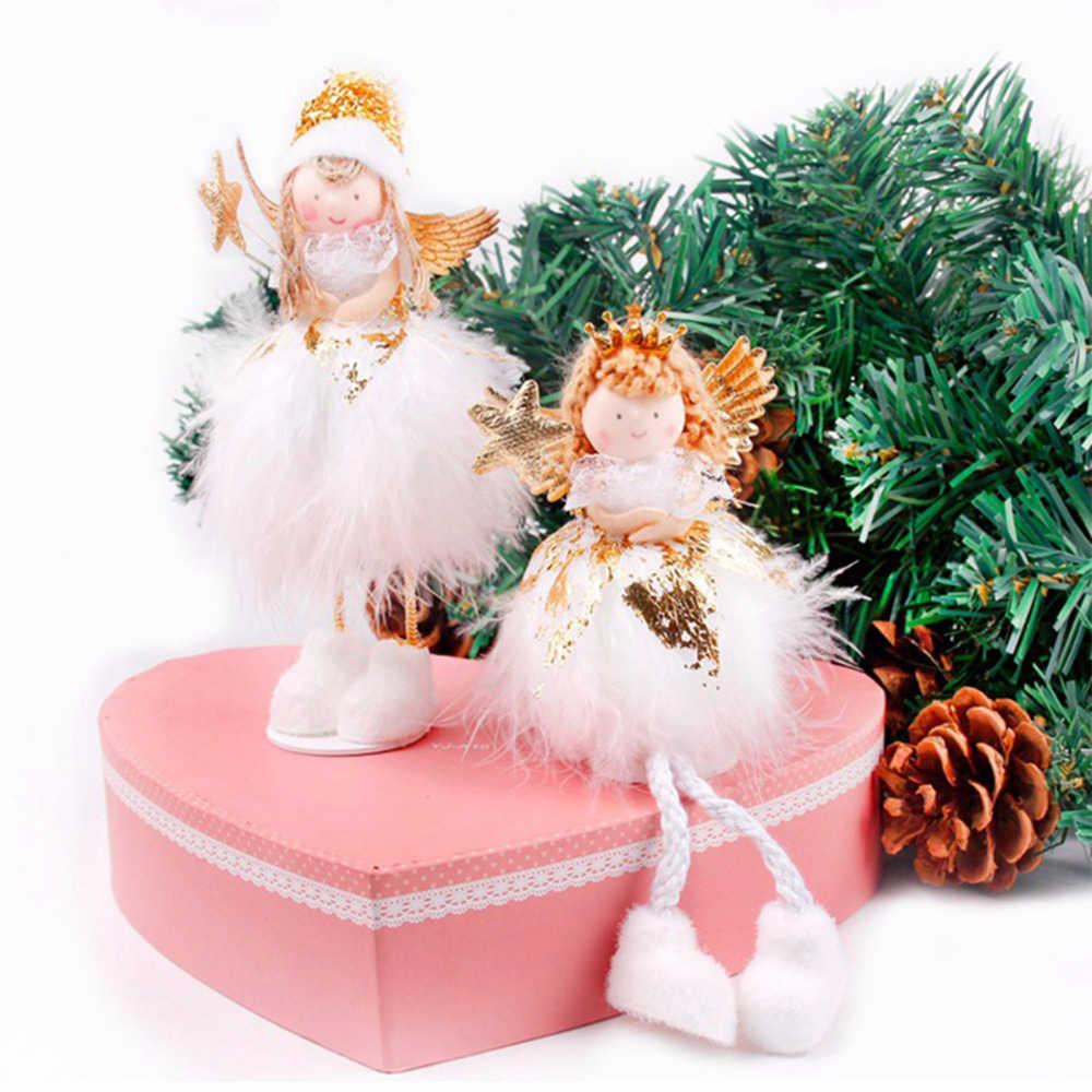 Christmas Angels.Huiran Merry Christmas Doll Elf Christmas Angels Christmas Decorations For Home Tree Ornaments Xmas 2018 Happy New Year 2019