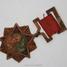 Винтажная военная медаль воина Второй мировой войны