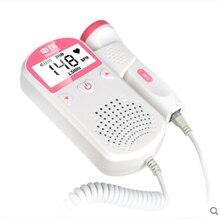 Pelvfine Fetal Doppler Heartbeat Detector sonar portable Pregnant Baby Heart Rate Monitor LCD ultrassom Vascular Doppler