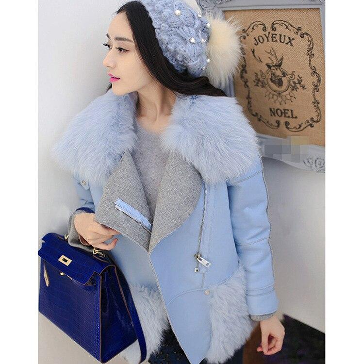 Fourrure Fausse Nouvelle En 2017 D'hiver De Femmes Mujer Courte Femme Manteau Femelle Veste Mode Patchwork Outwear UqxYwzqnTr