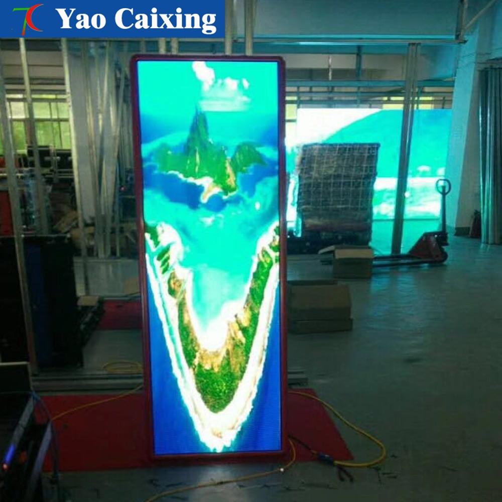 Экран плаката рекламной машины, Крытый Цвет Видео доска объявлений, высокой четкости Крытый дисплей панели