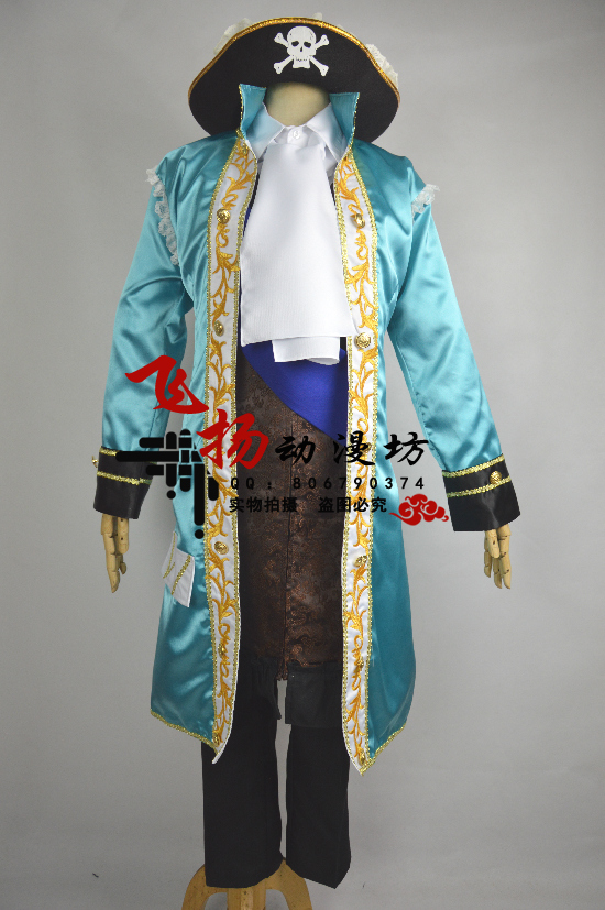 2016 костюм для косплея Axis Powers hetalia, Франция, любой размер на заказ
