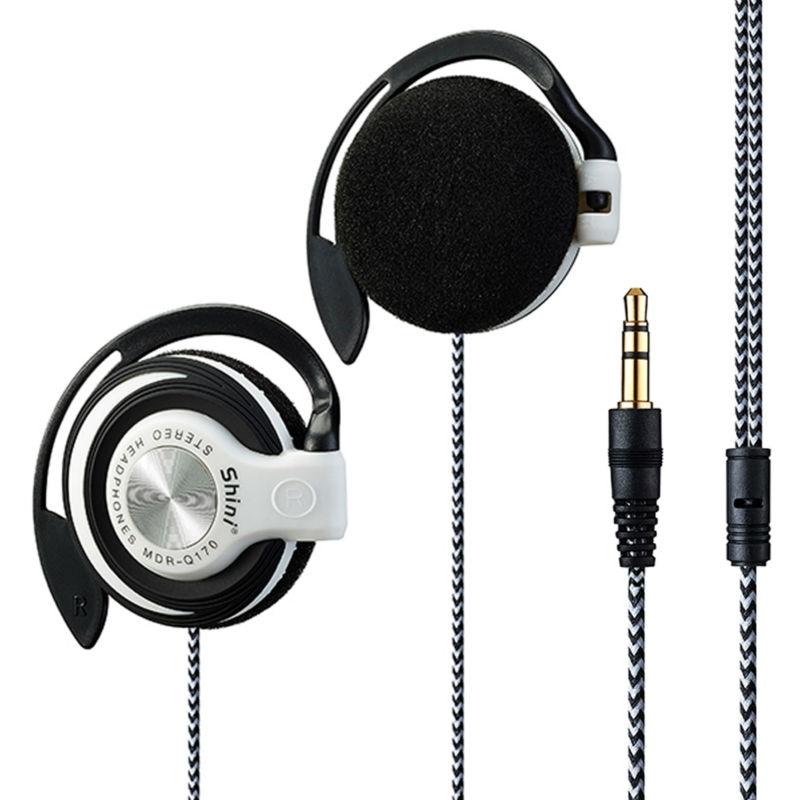 New Sport Earphones Ear-Hook Earpiece Stereo Headphones  Headset Handsfree For All Mobile Phone Mp3 player