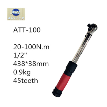 ARITER 20-100N.m Adjustable Hand Spanner 1/2 inch Ratchet Repair Tools Torque Wrench Repairing Hand Tools