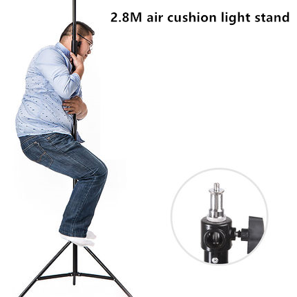 Godox Three Section Aluminum Air Cushion Lighting Stand Photographic Equipment Air Cushion Strobe Flash Light Stand CD50