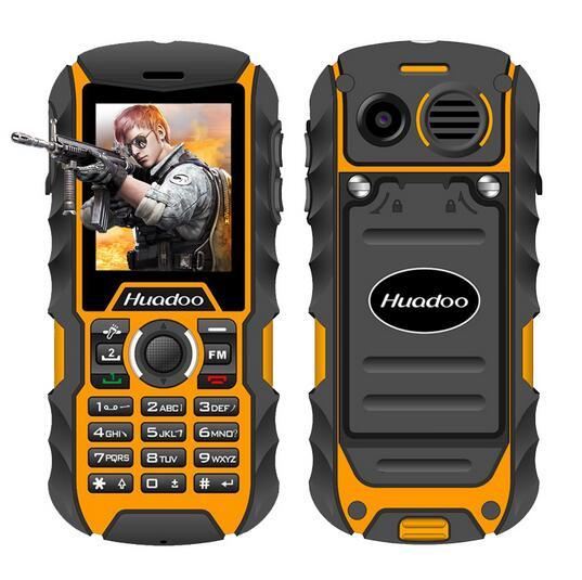 Mysterious gifts Huadoo H1 IP68 Waterproof Shockproof Dustproof Mobile phone outdoor rugged Senior Old Man