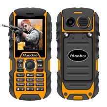 (Таинственные подарки) huadoo H1 IP68 Водонепроницаемый противоударный пылезащитный мобильного телефона Открытый прочный старший старик сотовом телефоне