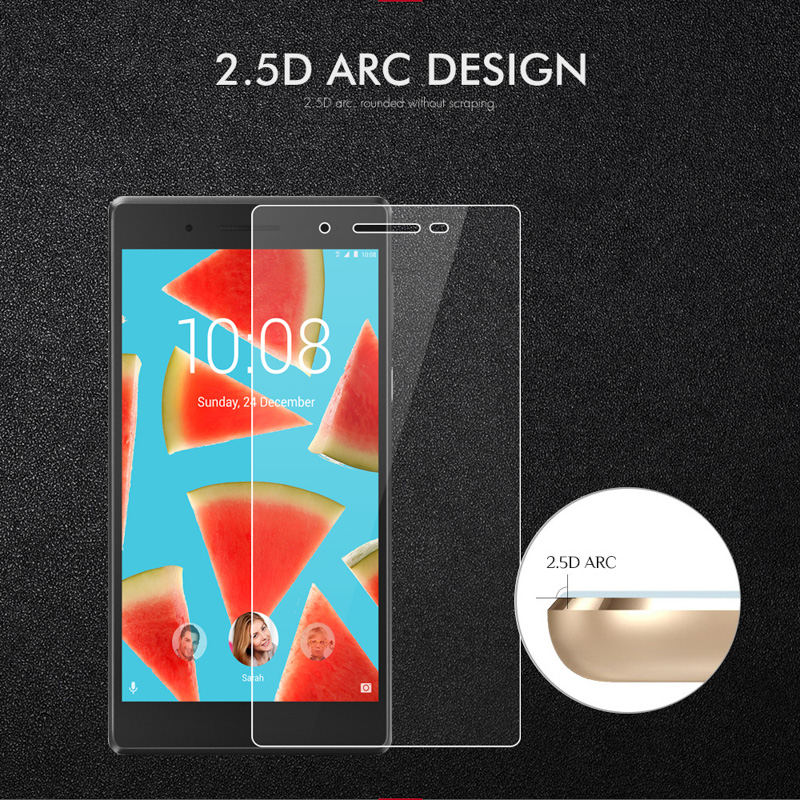 Tempered Glass For Lenovo Tab4 7 TB 7504F TB 7504N TB 7504X 7 0 inch 9H Ultra Thin Tablet Protective Toughened Glass Film in Tablet Screen Protectors from Computer Office