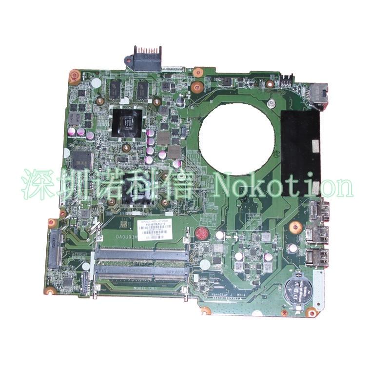NOKOTION DA0U93MB6D0 732096-001 732096-501  for Hp pavilion15 system boards A6-5200 CPU 574680 001 1gb system board fit hp pavilion dv7 3089nr dv7 3000 series notebook pc motherboard 100% working