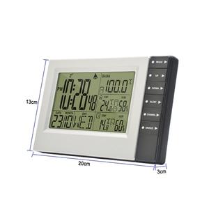 Image 2 - Wireless Weather Station Digital Display Alarm Clock Sauna Temperature Indoor Outdoor Thermometer Hygrometer most up 4 Sensors
