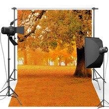 Vinil Backdrops Scenic Fotografia Fundo Para Crianças Outono Novo Tecido de Flanela para adereços foto Do Casamento estúdio S1979