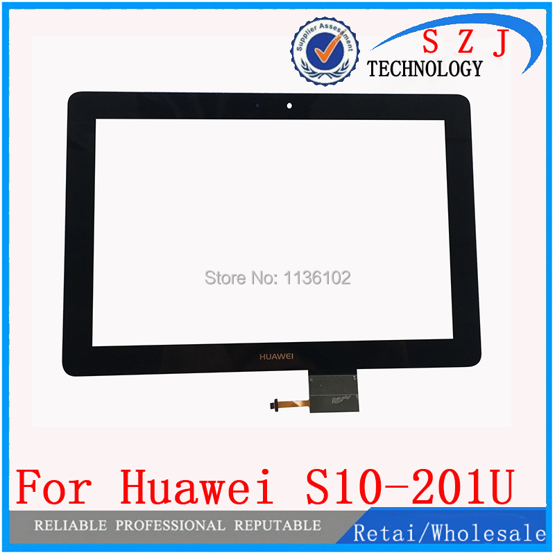 Original 10.1 inch For Huawei Mediapad 10FHD Link S10-201U S10-201W Touch screen Digitizer Glass Panel Replacement