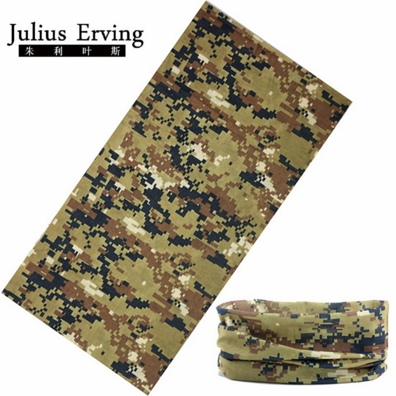 Anti-Uv Camo Bandana Seamless Headband Face Mask Magic Scarf 25*48cm Camouflage Army Motorcycle Bandanas Wears Luxury