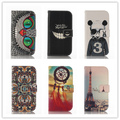Fashion Leather Flip Case for LG Optimus L90 D405 D410 D415 Cell Phone Cases Soft Back Cover With Stand & Wallet Function