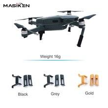 Mavic MASiKEN Aumentou Extensor Riser De trem de Pouso Para DJI Pro Protetor Zangão Quadcopter Pouso Kit de Montagem Titular