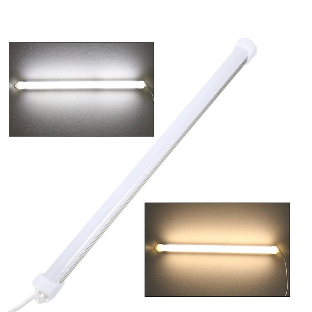Portable USB 5V LED Strip Tube Lamp White Light Bulb Switch ...