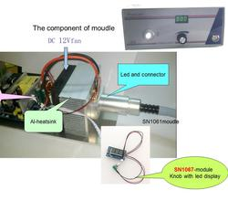 Endoskop led źródło światła moduł wejściowy pełne napięcie AC110-220v.High CRI90 kontroler led konb i led display-SN1067H