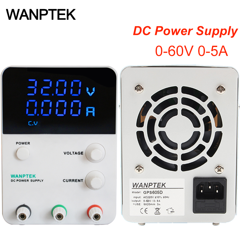 GPS605D 60V 5A Switch DC power supply Voltage Regulators 0.01V 0.001A Digital Display adjustable Mini DC laboratory Power Supply rps6005c 2 dc power supply 4 digital display high precision dc voltage supply 60v 5a linear power supply maintenance
