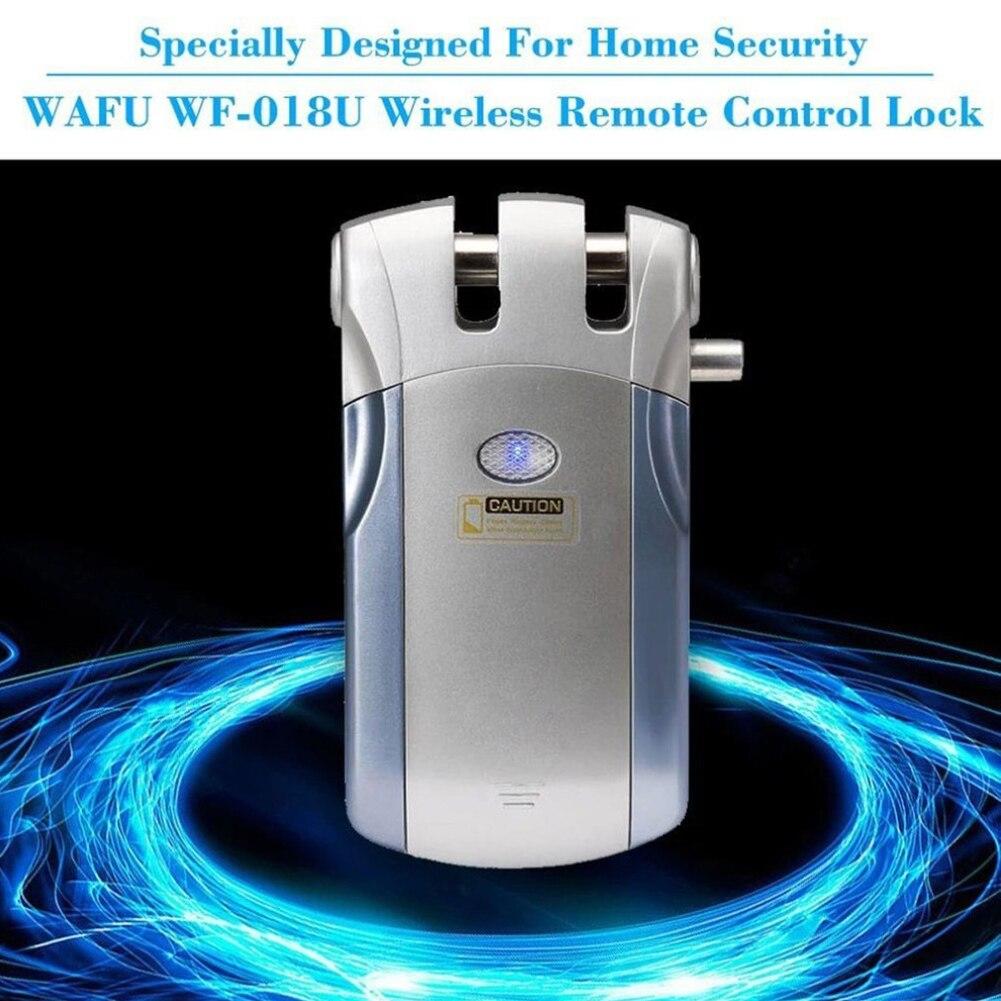 Empreinte digitale mot de passe porte serrure en alliage de Zinc électrique sans fil économie d'énergie Anti-vol sécurité petite maison utilisation télécommande