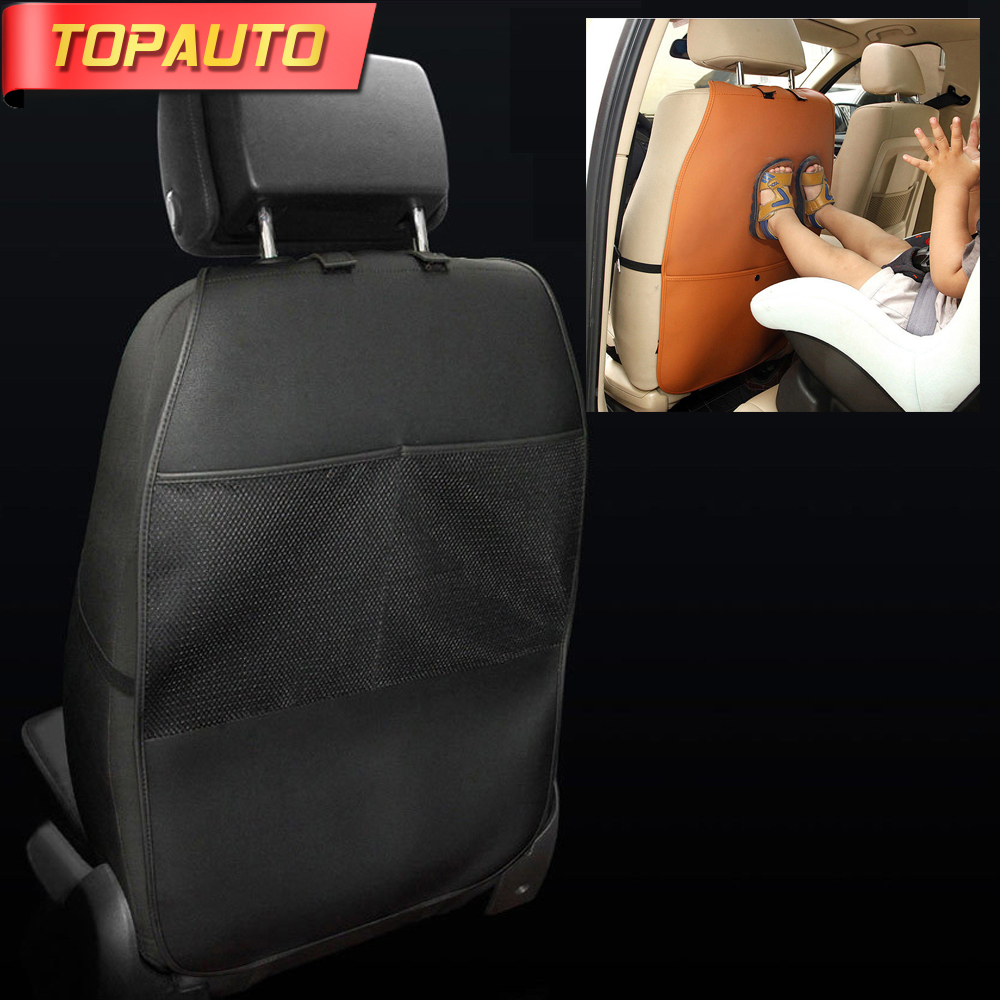 TopAuto Baby Anti Kicking Pad Childs Anti Dirty Kick Mat Car Seat Back Covers Protection Interior Car Styling Accessories