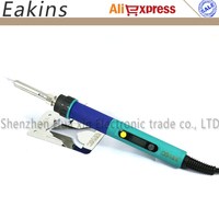 High Precision 936d LCD Adjustable Temperature Digital Electric Soldering Station EU Plug Replace HAKKO 936 Soldering