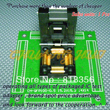 CH-QFP100-0.5 Programmer Adapter TQFP100 QFP100 15.2x15.2 14x14 IC51-1004-809 Adapter/IC SOCKET(Flip test seat)