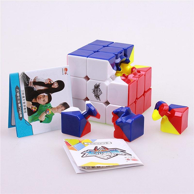 56mm stickerless 3x3x3 čarobni kocke brzina twist kocka magico - Igre i zagonetke - Foto 5