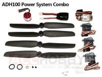 Micro Power System Combos,ADH100 (Including propeller saver,propeller,motor(KV 3700),ESC,servo,battery) RC Plane RC Model