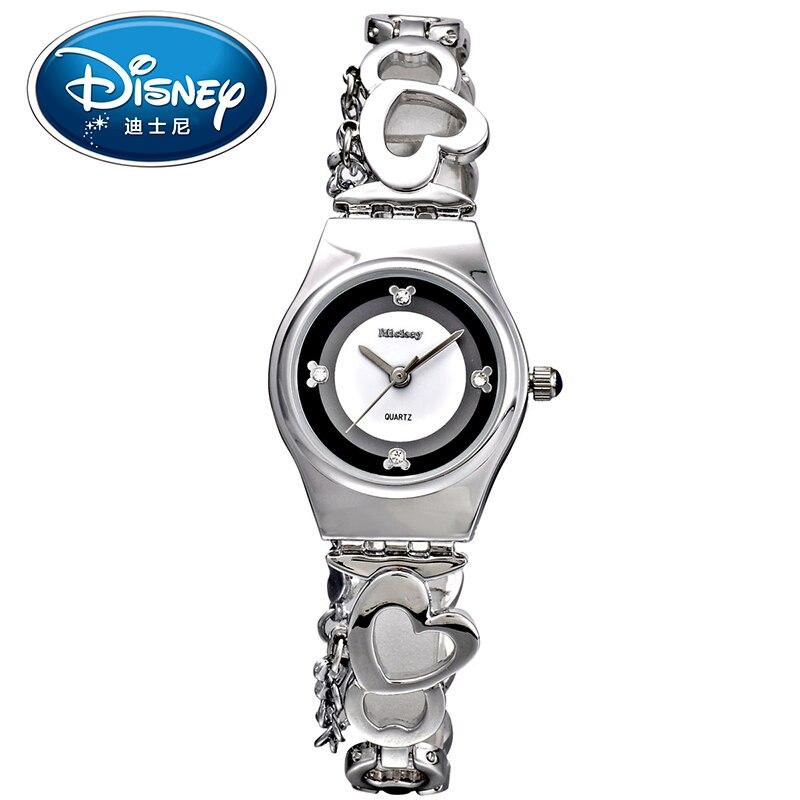 Disney Kids Watches Children Watches Casual Fashion Cool Quartz Wristwatches Girls Boys Couple Clock