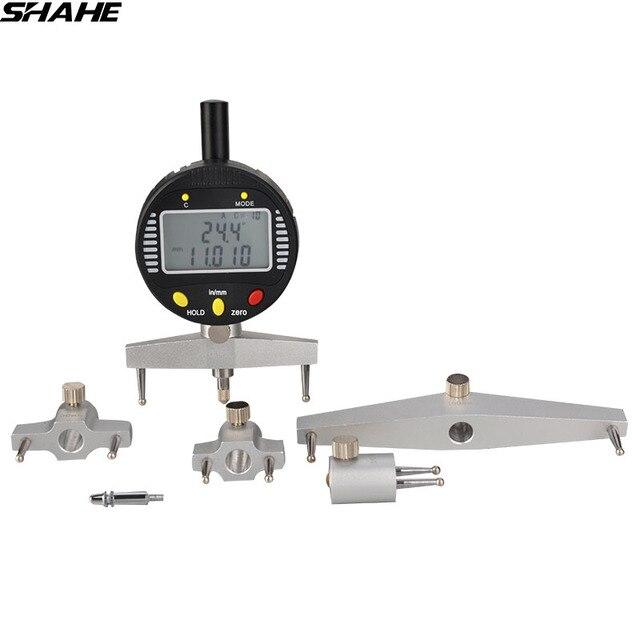 SHAHE High quality  digital radius gauge digital dial indicator