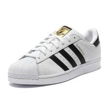 Adidas Official SUPERSTAR Clover Women's And Men's Skateboarding Shoes Sport Sneakers Low Top Designer C77124 EUR Size U