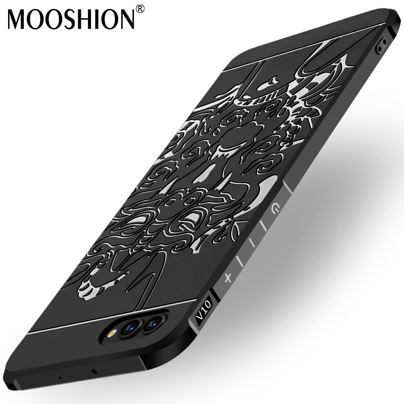 Luxury phone case For Huawei honor view 10 silicone Protective Batman cat bear Skull pattern for huawei honor v10 back cover
