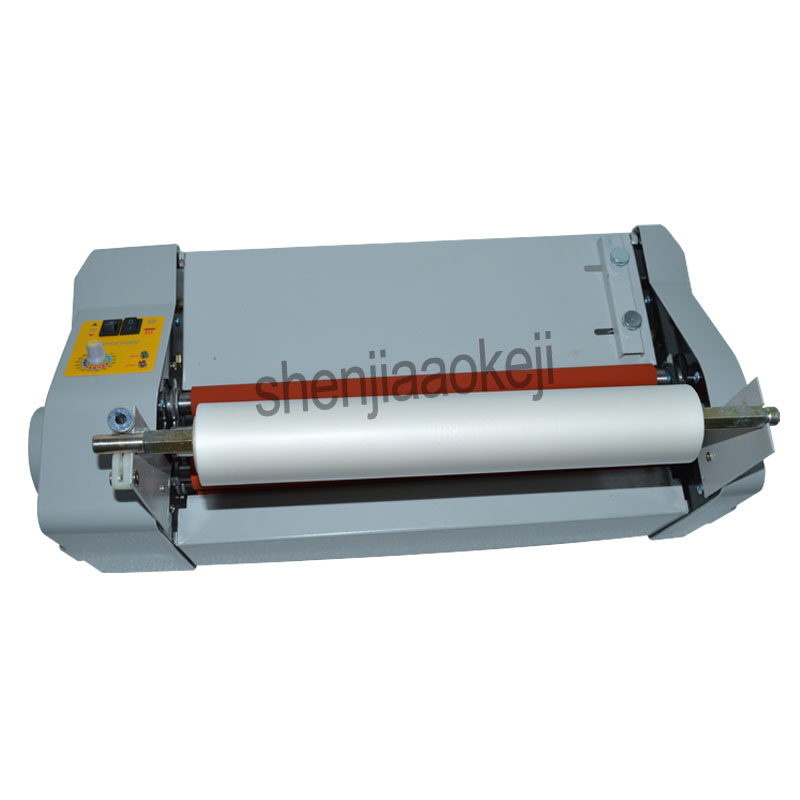 A3 paper laminating machine,cold roll laminator Four Rollers laminating machine worker card,office file laminator 110v / 220v fm 380 paper laminating machine students card worker card office file laminator steel roll laminating machine