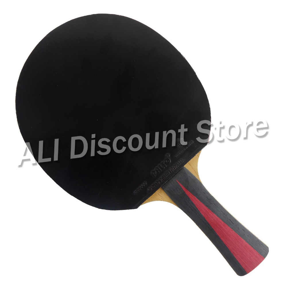 Palio ENERGY 03 Blade with 2x CJ8000 H40-42 Rubbers for a Table Tennis Combo Racket FL