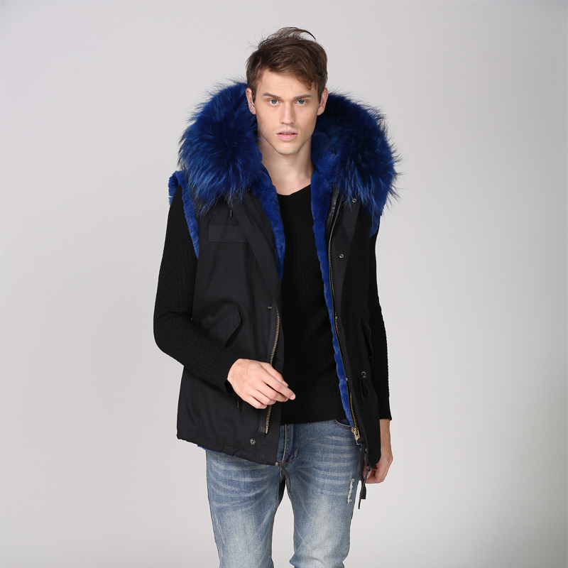 Style Automne De Lakeblue Gilet Fashion Fourrure Porter Noir Hoodies Court Top 5wZnqqC