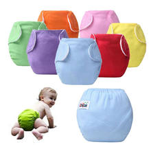Free Post 1 Size For All Cloth Nappy Waterproof Baby Diaper Washable Reusable Nappies Training Pant Cloth Diaper Fraldas Diaper(China)