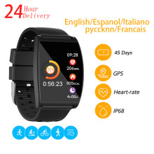 QS05 Smart Watch I67 Waterproof Blood Pressure Smartwatch GPS Fitness Tracker Heart Rate Monitor Call Reminder Watch Men Women(China)