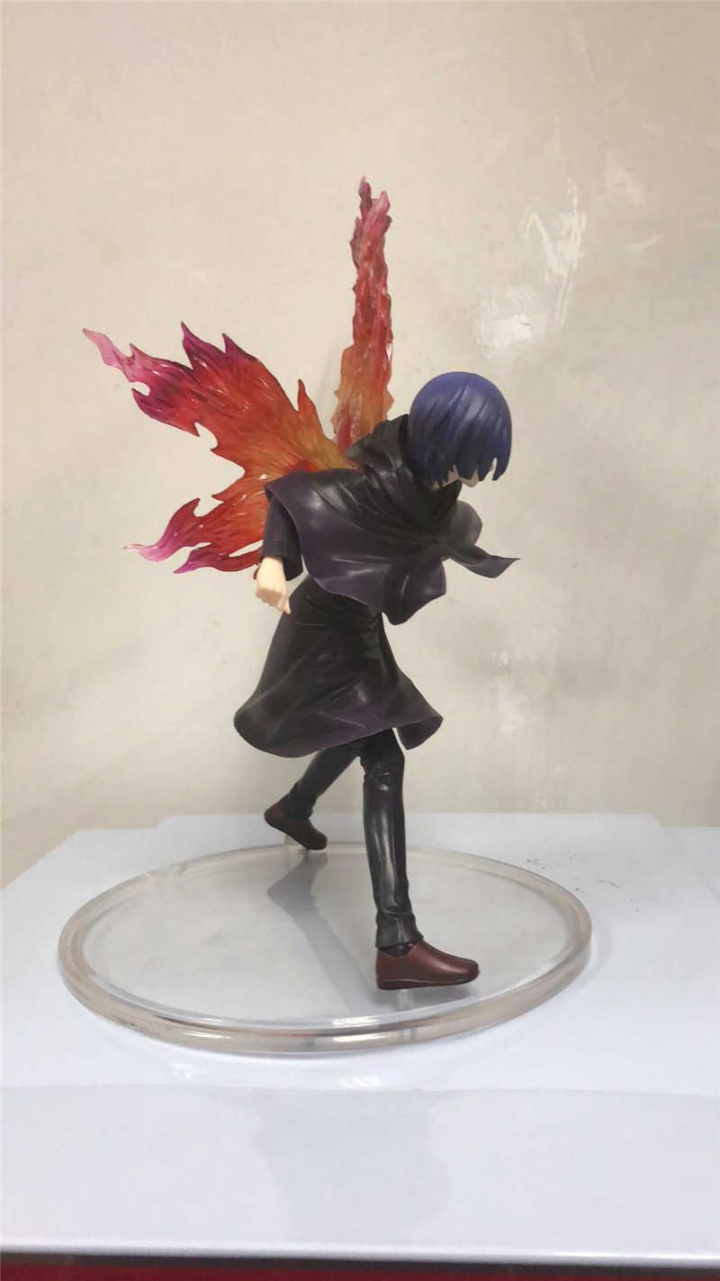 Tokyo Ghoul Touka Kirishima Modelo Figura PVC Figuras Animado Juguetes Altura 26 Cm