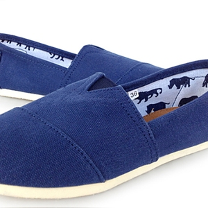 Women Flat Shallow Loafers Can