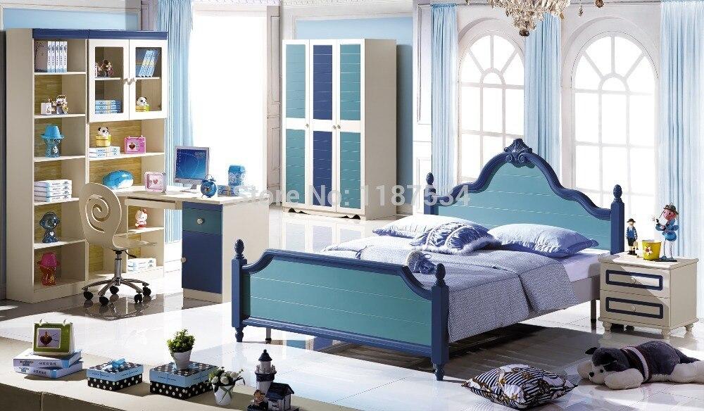 6606 Children Bedroom Furniture Set Wardrobe Nightstand Bed And Desk Four Pieces Bedroom Furniture Set Children Bedroom Furniture Children Furniture Setsbedroom Furniture Desks Aliexpress